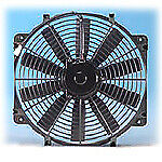 "Flex-A-lite 116 Single Electric Fan 16"" Pusher Or Puller W/O_Controls Puller Wo/"