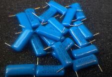 0.15uF 150nF 250V Blue Polyester Capacitors 154  - 30pcs