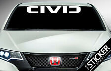 CIVIC Windshield Vinyl sticker 1016 x 133mmVtec S2000 EP3 Civic Accord NSX