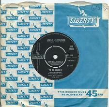 Jackie DeShannon:To be myself/I can make it with you:UK Liberty:Northern Soul