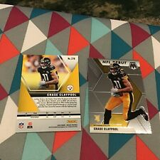 Chase Claypool #278 steelers NFL DEBUT Base RC card 2020 Panini 1st Year Mosaic