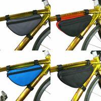 Ciclismo Bike Bag Accesorios de la bicicleta Bastidor de tubo delantero Bolsa