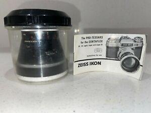 ZEISS IKON Pro-Tessars for Contaflex F/4 115mm Portrait & Telephoto Lens