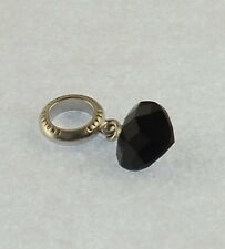 "Endless Charm  ""Black Heart Cut Drop ""  .925 Silber    #   A  20229"