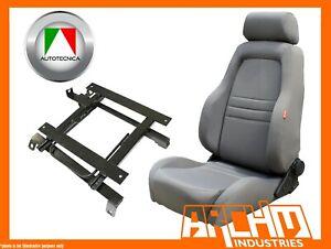 AUTOTECNICA ADVENTURER 4WD 4X4 SEAT CLOTH GREY HILUX RZN 1998-2005 RIGHT ADAPTOR