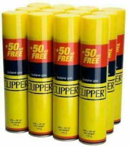GENUINE Quality CLIPPER Universal Gas Butane Refill For All Lighters Flint 300ML