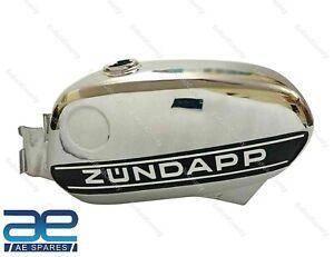For Zundapp KS 50 Cross 517-52 Chrome Petrol Fuel Gas Tank 1975 Model ECs