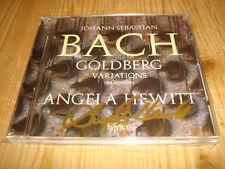 ANGELA HEWITT Piano Bach Goldberg Variations HYPERION CDA 68146 Signed Signiert
