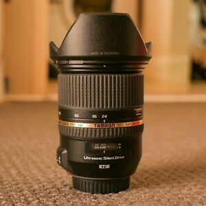 Tamron SP 24-70mm f/2.8 Di VC USD Lens for Canon (Stiff zoom)