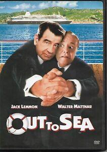 Out to Sea (DVD, 1997 Release, WS/FS) with Walter Matthau & Jack Lemon! RARE DVD