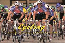 #3119 FD Program 50c Cycling Souvenir Sheet