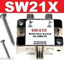SW21 SATELLITE SWITCH SW-21 LNB DISH NETWORK BELL BEV