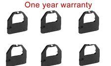 6 Black ink fabric ribbon for Panasonic KX-P150 KX-P3123 KX-P3124 KXP150 printer