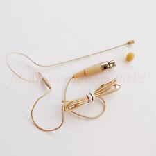 Single Headset Mics JPA Headworn Mic FOR Audio Technica (TA5F) ATW-T101 Bodypack