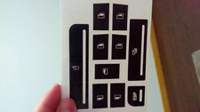 Repair Kit Electric Window stickers buttons of the Audi A2 A3 A4 A6