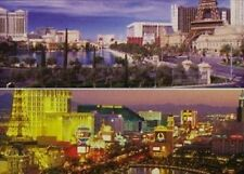 Jigsaw puzzle Explore America Day & Night Las Vegas 2 puzzles 500 piece each NEW