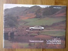Vauxhall Carlton, Royale, Viceroy sales brochure 1980. First Edition