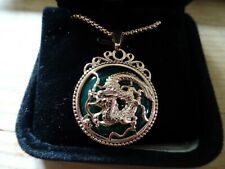 CLEARANCE - 18ct ROSE GOLD & SILVER CELTIC KINGS Necklace & Pendant Boxed