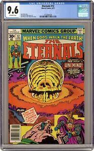 Eternals #12 CGC 9.6 1977 3722884004