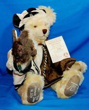 "Hermann Ltd. Ed.17"" Mohair Albrecht Duerer Bear w/Rabbit ~ 500th Anniversary"
