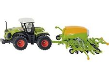 Siku Diecast 1:87 Scale Model 1826 - Claas Axion Trailer With Amazone Seeder