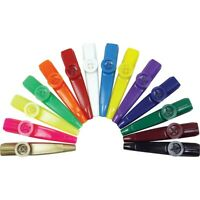 woodstock percussion PLASTIC KAZOO choice of red yellow or blue Anyone can play