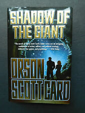 SHADOW OF THE GIANT by Orson Scott Card 1st/1st hardcover with dust jacket 2005