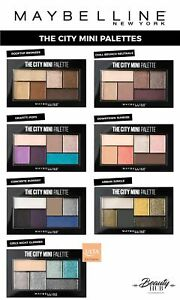 Maybelline The City Mini Palette - Eyeshadow Palette [Choose Your Color]