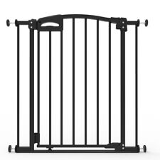 Child Safety Ultimate Safety Gate, Black, Pressure Mounted (suits 73-82cm)