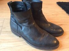 RARE BELSTAFF DESIGNER LEATHER ATTWELL BIKER BOOTS SHOES RRP £495