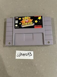 SNES Kirby Super Star Authentic Game Cartridge Tested Super Nintendo 1996