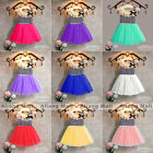 Baby Girls Striped Clothing Bowknot Sleeveless Dress Princess Party Kids Clothes