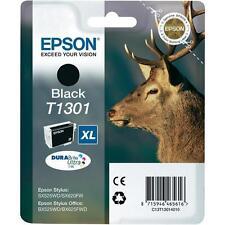 Original Epson T1301 Black Ink (C13T13014010) for Stylus Office WorkForce WF