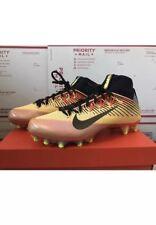 Nike Vapor Untouchable 2 Football Cleats CHMP Solar Flare Size 10.5 850591-708