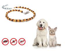 Hunden Bernsteinkette Halsband roh.100% Baltische Art: HZN/ 011/ ca:23-40 cm.