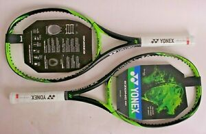 2 new with tags Yonex EZone 100 4 1/4 grip 285g tennis racquets