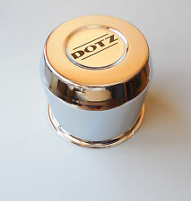 1x DOTZ zo5050 DAKAR CHROME Chapeau de moyeu INVISIBLES pour plat x165,1 103mm