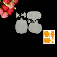DIY Halloween Pumpkin Metal Cutting Die For Scrapbooking Album Paper Cards TB