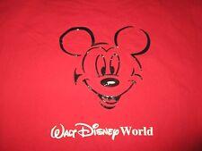 Vintage Walt Disney World Mickey Mouse Raised Outline Design (Lg) T-Shirt
