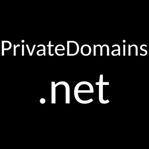 PrivateDomains.net - premium domain name - No reserve!