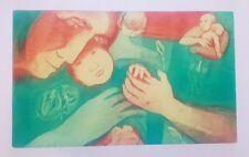 Berta Rosenbaum Golahny 1925-2005 original hand signed screen print painting
