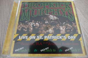 Dropkick Murphys – Live On St. Patrick's Day / Rock, Punkrock - Hütte abreißen..
