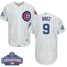 Chicago Cubs #9 Javier Baez World Series Stitched Mlb Jersey Large