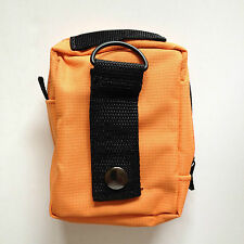 FORESTRY FIRST AID KIT - HI VIZ ORANGE BAG - BELT LOOP- INCLUDES TRAUMA DRESSING