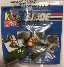 HASBRO GI JOE 1993 WALMART KIDS MEAL BAZOOKA AND PERSUADER MICRO SET RARE Nice!
