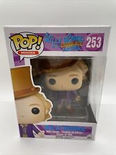 Funko Pop! Movies Willy Wonka and the Chocolate Factory WILLY WONKA  #253 New