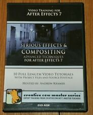 Serious Effects & Compositing Advanced Techniques After Effects 7 Dvd-Rom