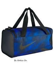 Nike Crossbody Small Duffel Bag Black Gray Gym Training School New