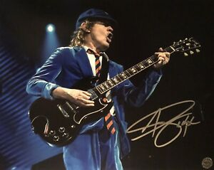 Angus Young - AC/DC - Original Autograph - Hand Signed 8x10 with Hologram COA