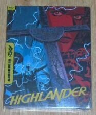 Highlander - Mondo X (blu-ray) Steelbook. NEW & SEALED (Canadian import)
